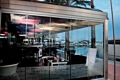 Imagen del restaurante en Portals.