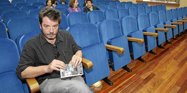 Enrique Urbizu, en Valladolid, el pasado mes de septiembre. | Montse Álvarez