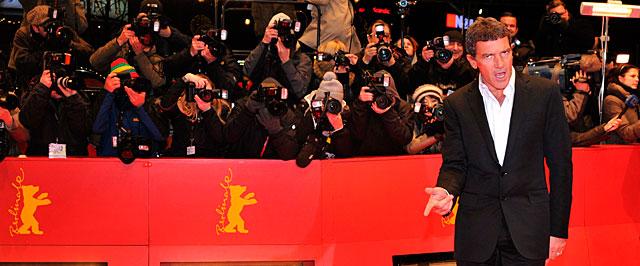 Antonio Banderas, este miércoles en la Berlinale. | AFP