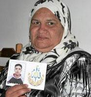 La madre de Walid Bihmane. | E. C.
