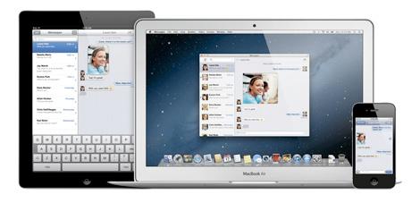 Captura de iMessage en todas las plataformas.   Apple