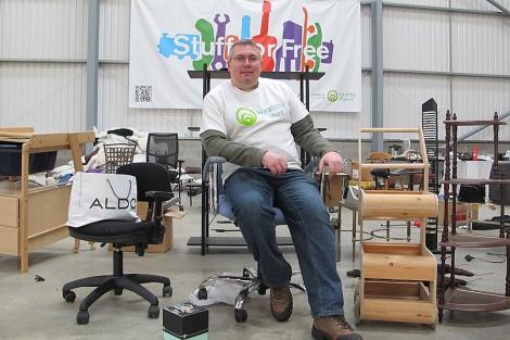 John Brookes, director de Stuff For Free y Healthy Planet. | Fotos: C. F.