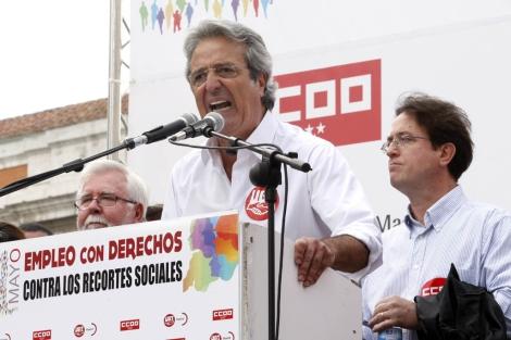 El secretario general de UGT-Madrid, José Ricardo Martínez. | Efe