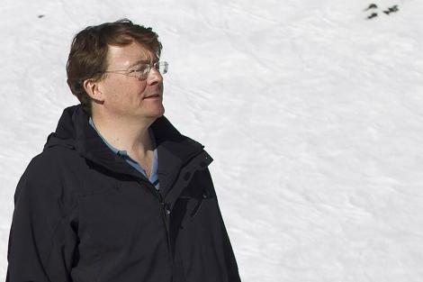 El príncipe Friso de Holanda, en la localidad austriaca de Lech. | Reuters