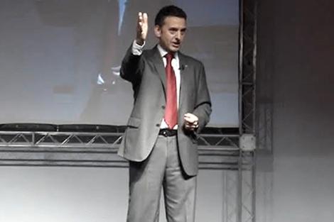 Germán Carmona, durante una conferencia.