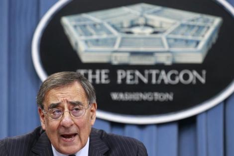 El secretario de Defensa de EEUU Leon Panetta habla de Irán en el Pentágono. | Reuters