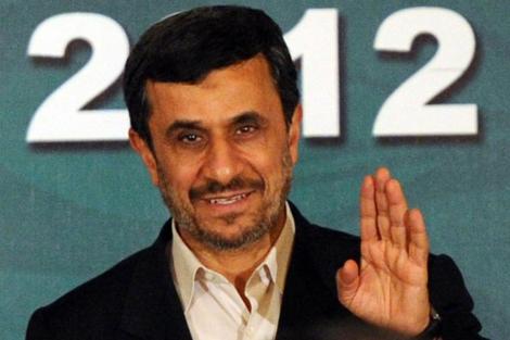 El presidente de la República Islámica iraní, Mahmud Ahmadineyad, en Islamabad. | Afp