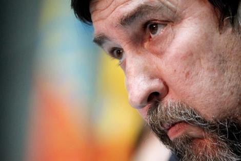 Antonio Moreno en la rueda de prensa de este lunes en Valencia | Efe
