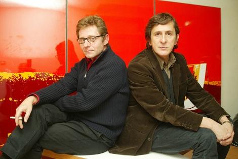 Luis Moreno mansilla (izquierda) con Emilio Tuñón, en 2007. | Kike Para