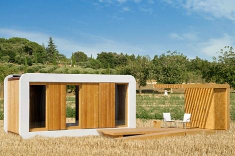 Una de las viviendas sostenibles de la empresa. | Noem.com
