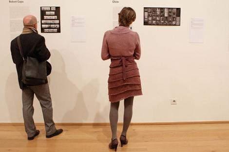 Exposición 'La maleta mexicana' en el Museo Bellas Artes de Bilbao. | Justy García