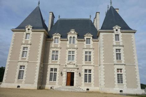 Château du Bois en Aix (cerca de Tours).