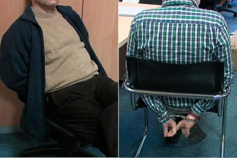 Imágenes de dos de los detenidos facilitadas por la Policía Nacional