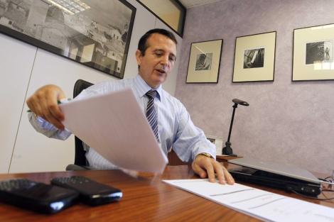 El empresario Manuel Palma, concejal de Hacienda en el Ayuntamiento de Paterna. | José Cuéllar