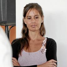 Elisa Díaz, hija del ex alcalde.   E.Caparrós