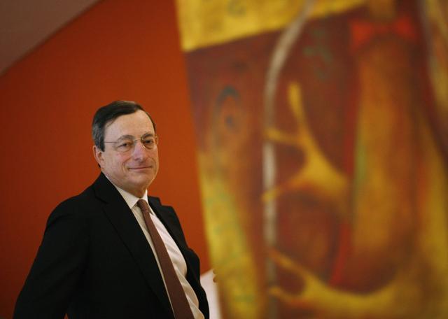 El presidente del BCE, Mario Draghi.   Reuters