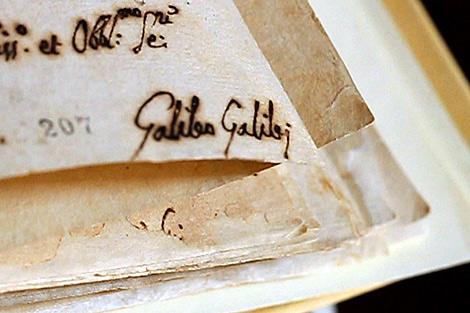 La abjuración de Galileo Galilei.