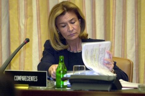 La ex presidenta de la CNMV, Pilar Valiente. | Carlos Miralles