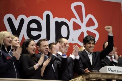 El consejero delegado de Yelp, Jeremy Stoppelman. | Efe