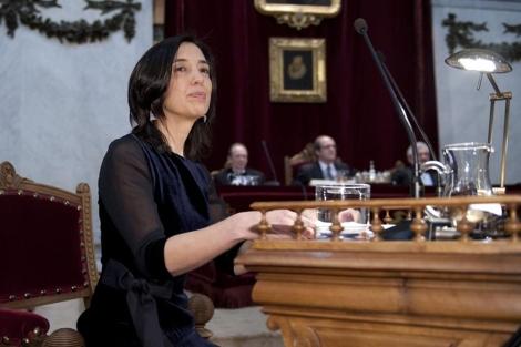 La catedrática de la RAE, Inés Fernández, el año pasado.   Bernando Díaz