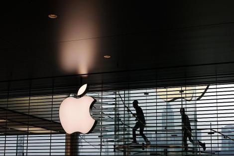 Imagen de la nueva tienda de Apple en Hong Kong. | Afp