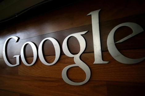 Logo de Google en su sede de Mountain View, EEUU.   Afp
