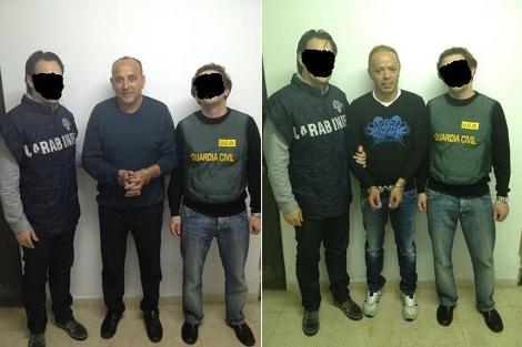 Giuseppe Polverino y Raffaelle Vallefuoco, detenidos por la Guardia Civil