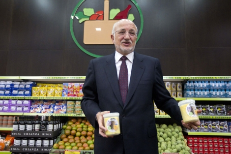 Juan Roig, presidente de Mercadona en uno de sus locales | Benito Pajares