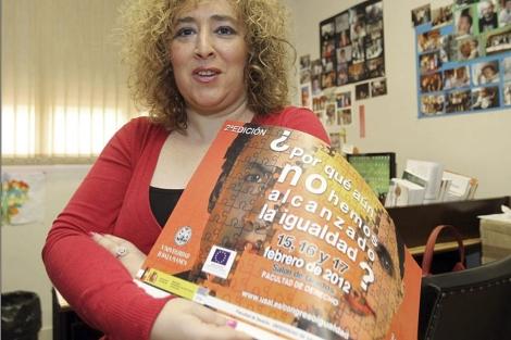 Marta del Pozo, organizadora de un reciente congreso sobre desigualdad.| Efe