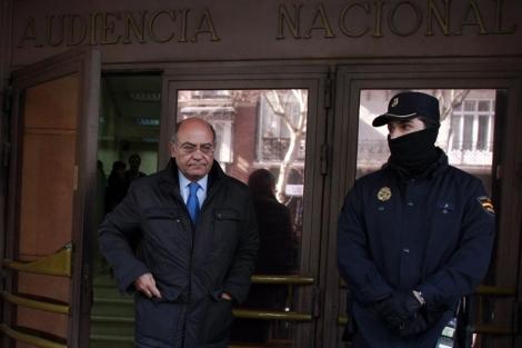 Gerardo Díaz Ferrán, a su salida de la Audiencia Nacional. | Javier Barbancho