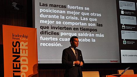 Gonzalo Brujó, consejero delegado de Interbrand. | LFG