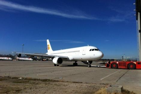Aviones de Iberia Express. | ELMUNDO.es