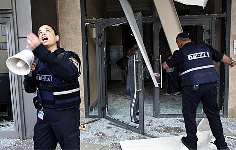Imagen de daños en la ciudad de Ashdod. | Reuters