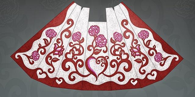 Diseño del manto que lucirá la Virgen en la Ofrenda. | JCF