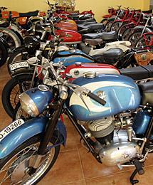 Se expondrán 58 de 131 motos.   R. G.