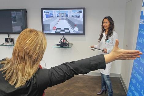 Una de las sesiones virtuales, en el laboratorio de la asociación. | Justy García Koch