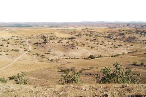 Tell Brak, al noroeste de Siria, uno de los lugares con asentamientos de hace 8.000 años. | PNAS