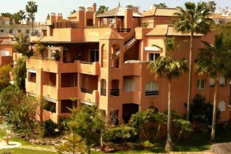 Imagen del ático de Ignacio González en Marbella.  EL MUNDO