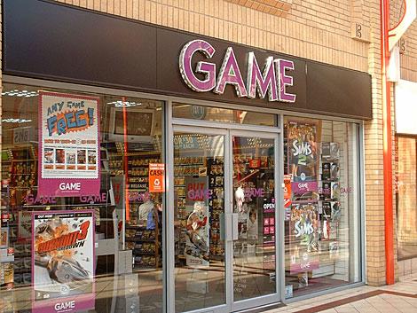 Tienda de Game en Suffolk, Reino Unido. | Britten Shopping Centre