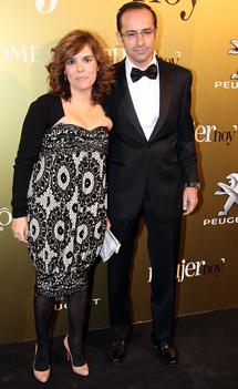 La vicepresidenta del Gobierno junto a su marido. | Gtres