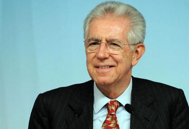 Mario Monti, durante una rueda de prensa en Roma. | Efe