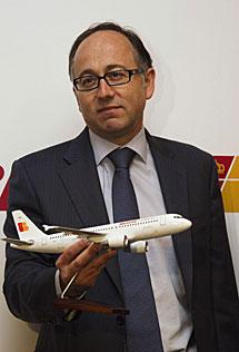 Luis Gallego, consejero delegado de Iberia Express. | Reuters