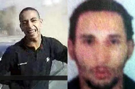 Mohamed Merah y su hermano Abdelkader. | Afp