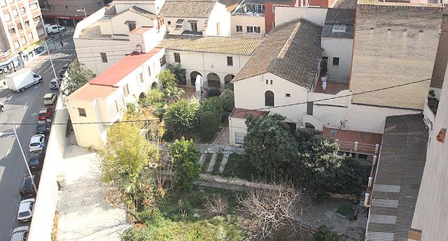 Vista aérea del monasterio en Castellón. | E. Torres