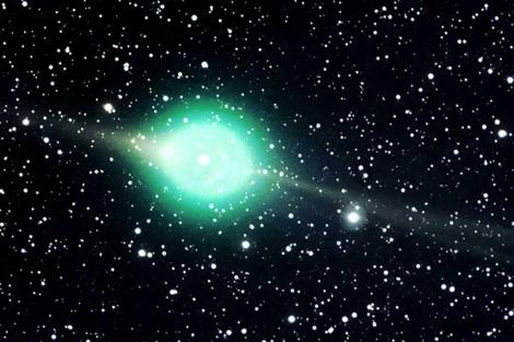 Cometa Lulin, durante su aproximación a la Tierra en 2009.| NASA