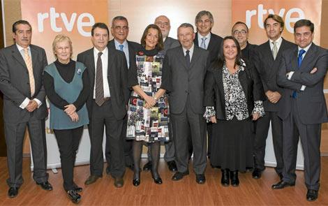 El consejo de RTVE, cuando estaba formado por sus 12 miembros. | RTVE