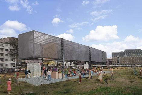 Recreación del proyecto de Guugenheim para Berlín. | AFP