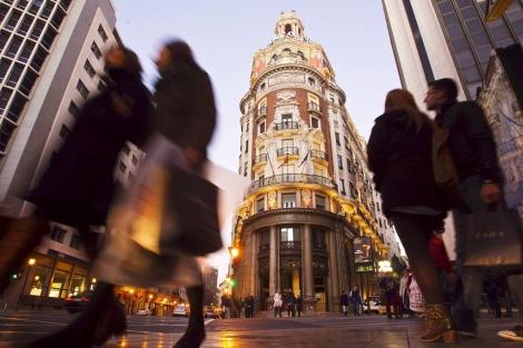 Fachada de la sede del Banco de Valencia. | Vicent Bosch