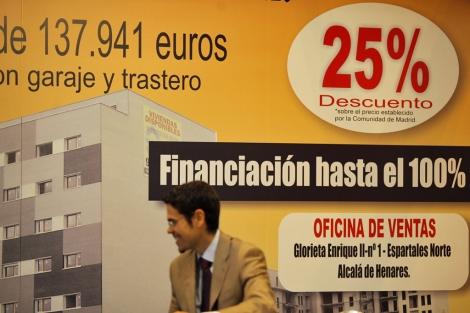 'Stand' de un expositor bancario de la edición de 2011. | Antonio Heredia