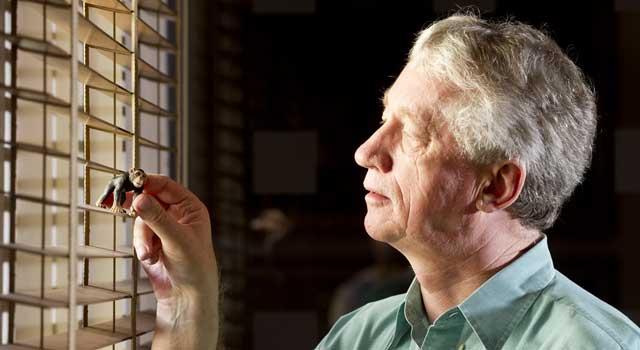 El primatólogo Frans de Waal, en su reciente visita a Madrid. | Gonzalo Arroyo